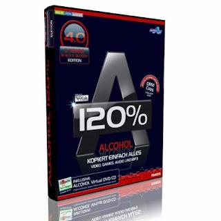 Alcohol 120% 4. 0 black and bloody edition kopieren sichern.