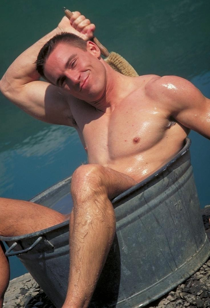 Sportsman Bulge Naked  Cowboy Cock Show-2149