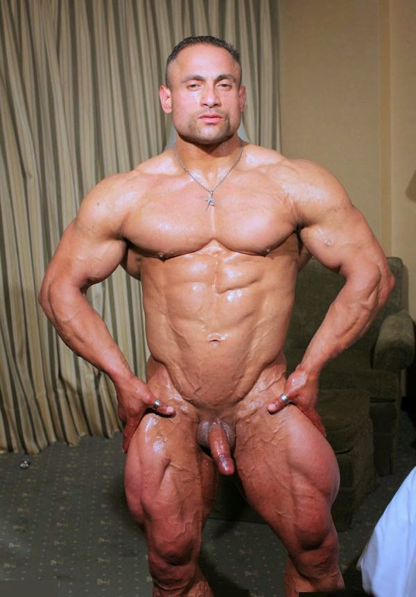 Nude male bodybuilding poses consider, that