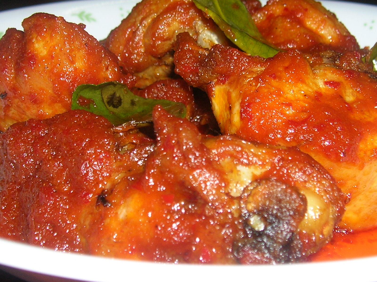 resepi ayam geprek surasmi Resepi My Ayam Masak Palembang Enak dan Mudah