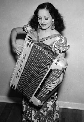 Accordian girl.
