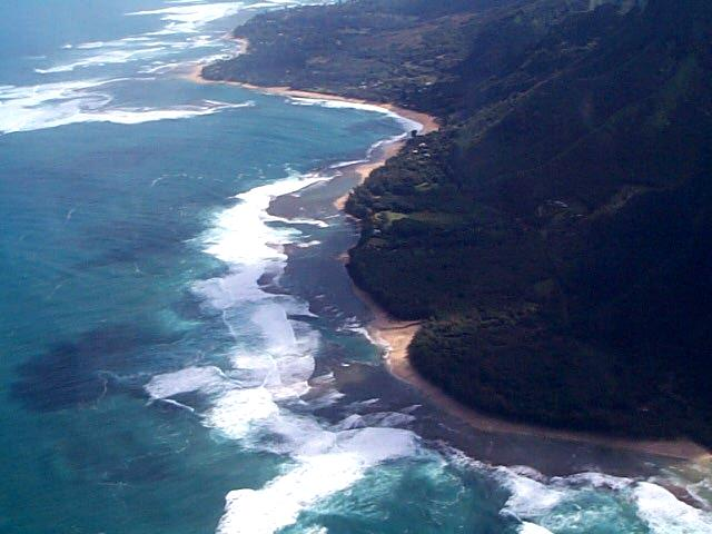 princeville helicopter tours with 2001 Our 1st Trip To Kauai on Waioli Beach also Air Luau  bo further Waimea Canyon as well Jungle Valley Adventure together with All Inclusive Vacations.