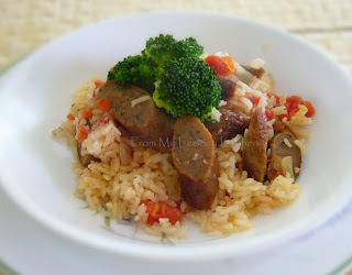 Winter Comfort Food ~ Sausage Rice