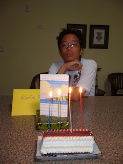 Danial's 14th Birthday