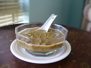 Bubur Kacang or Mung Beans Sweet dessert...