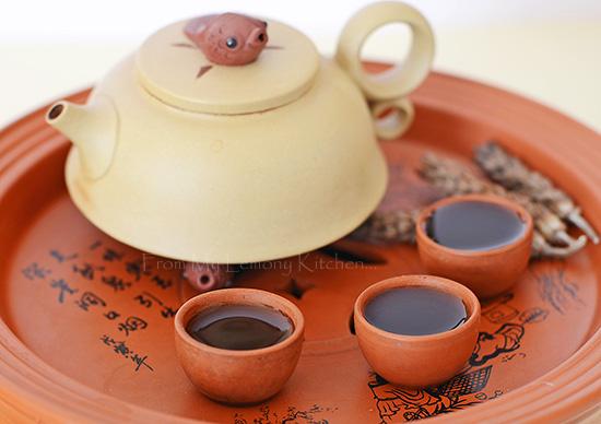 Leong Cha / Selfheal Flower tea
