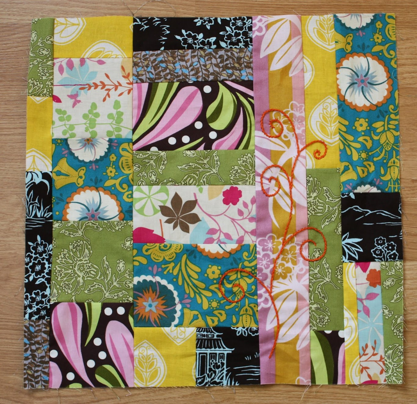 March's quilt block