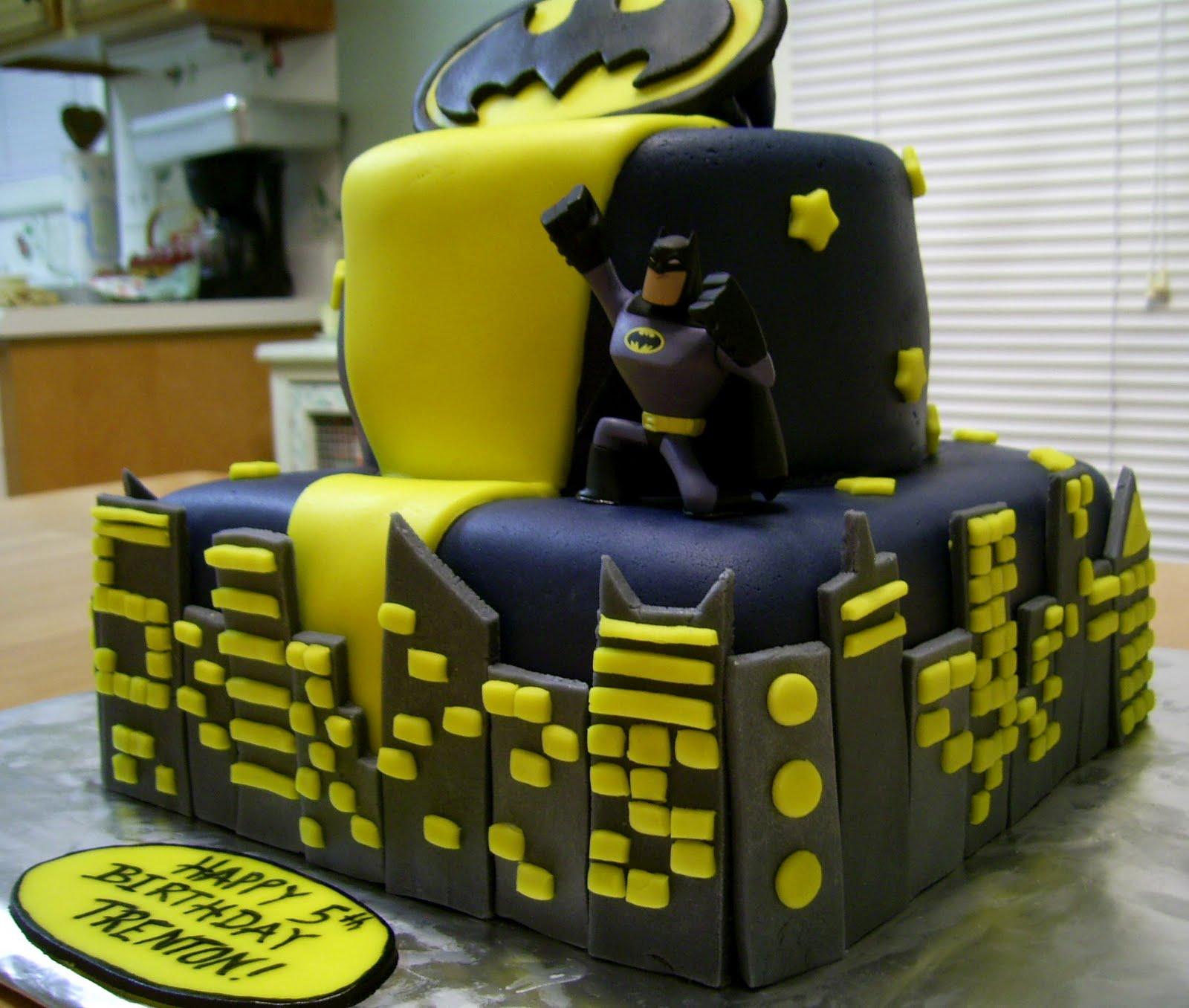 Bellissimo! Specialty Cakes: Batman Birthday Cake - 1/10