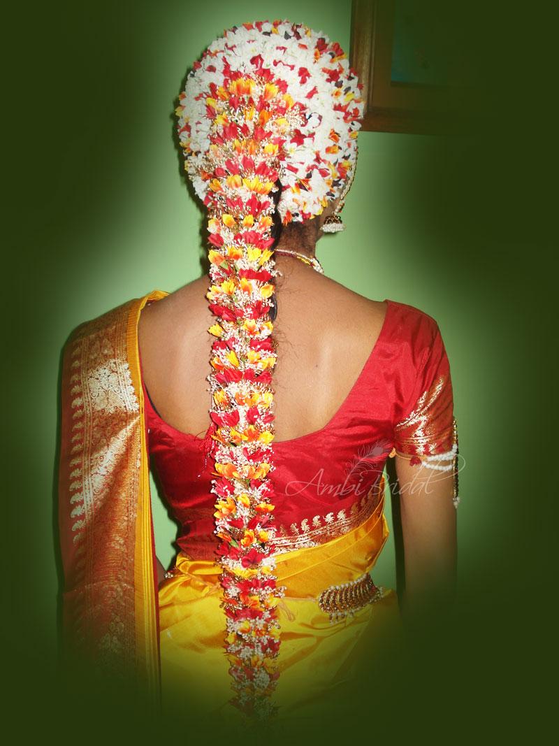 bridal hairstyles for long hair + tamilnadu | top hairstyles