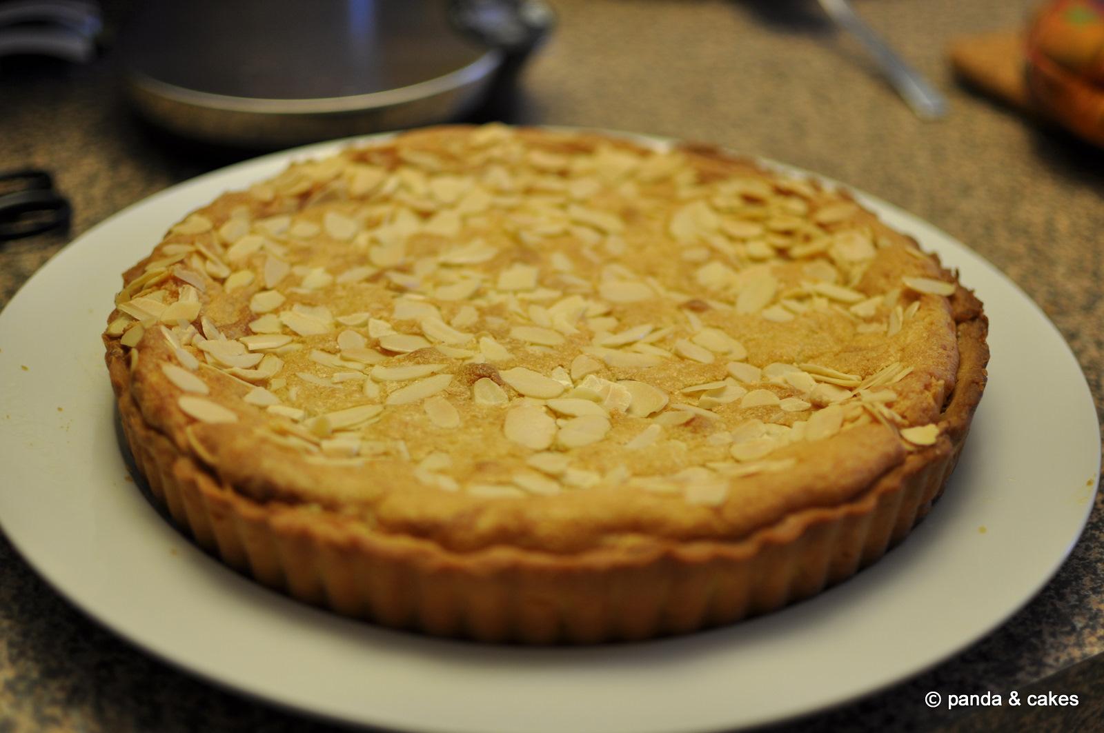 Almond Cake Recipe Jamie Oliver: Panda & Cakes: Jamie Oliver's Bakewell Tart