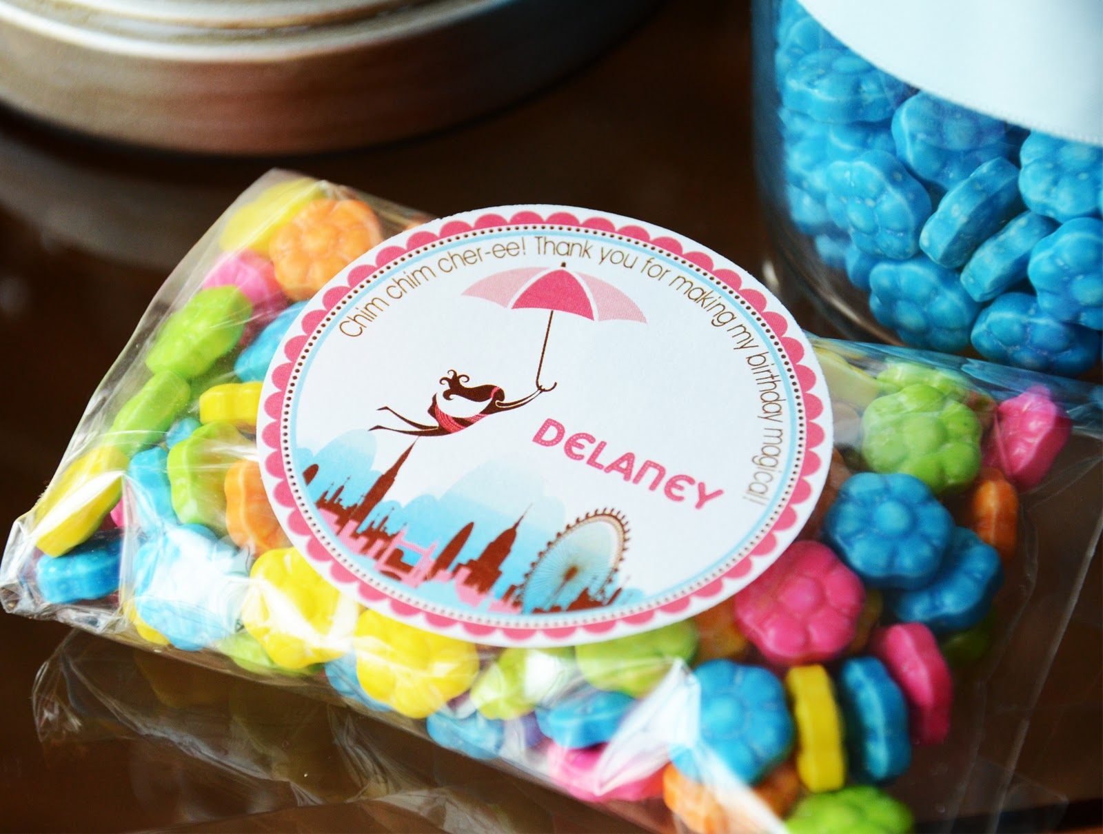 Paper Chick Mary Poppins Birthday Party Printables