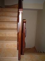 escalera madera de pino