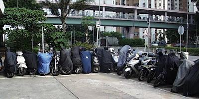 Steve 在日本的生活: 生活小品 - 電單車