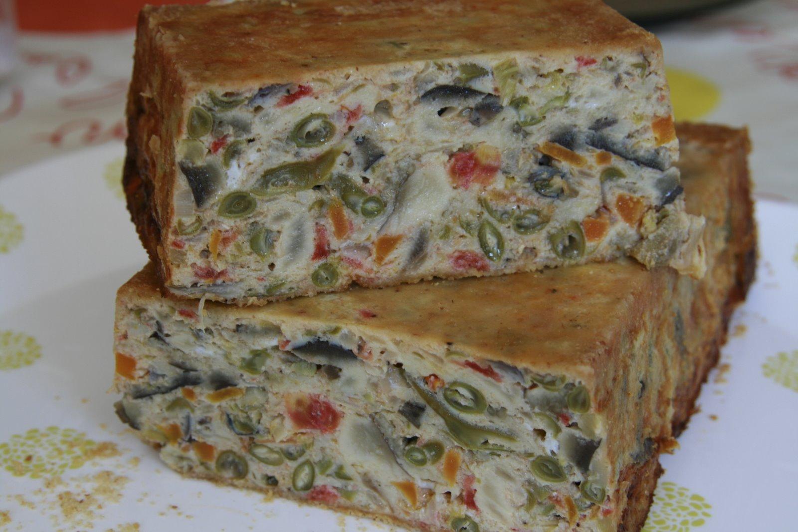 Cake De Tomate Verte