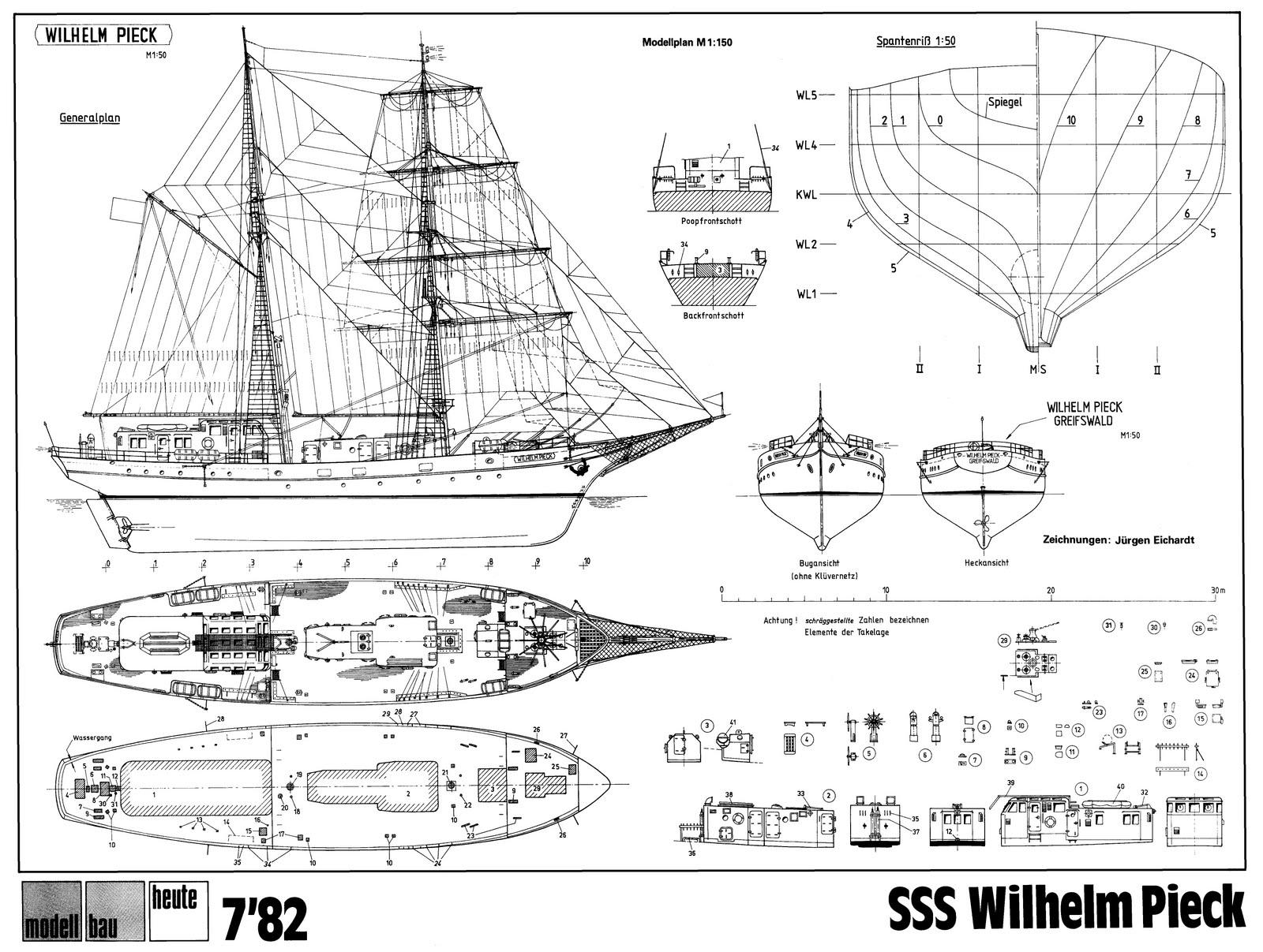 Quinze marins sur le bahut du mort plan wilhelm pieck for Plan a 3 site gratuit