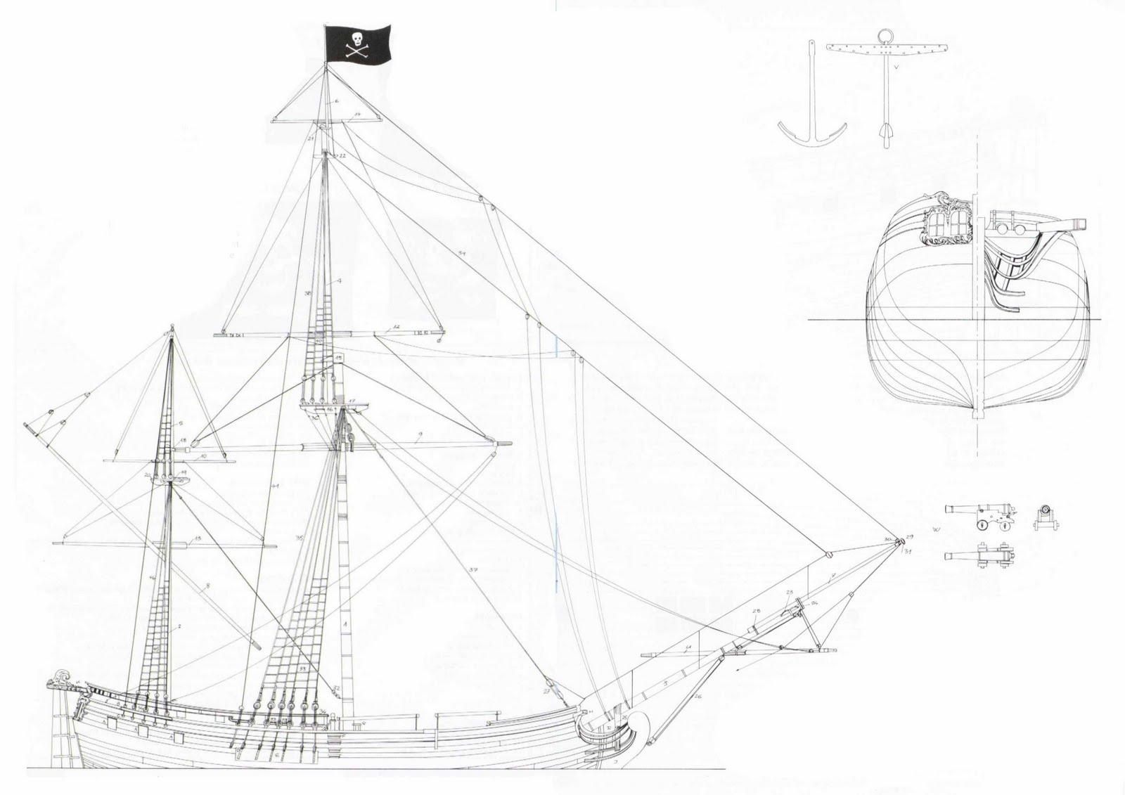 Quinze Marins Sur Le Bahut Du Mort Plan D Un Navire De