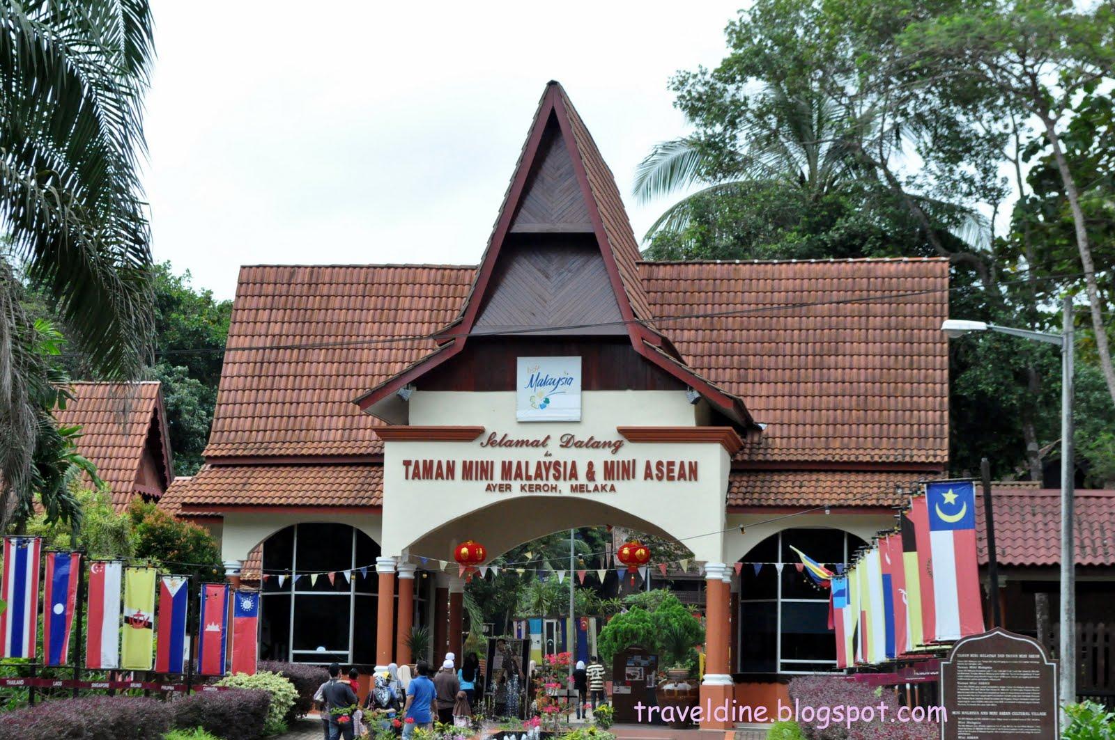 Travel And Dining Experience Taman Mini Malaysia Melaka