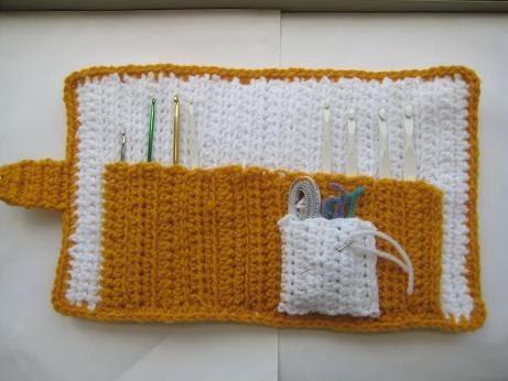 Free Crochet Pattern Hook Case : Crochet Dreamz: All In One Crochet Hook Case (Free Pattern)