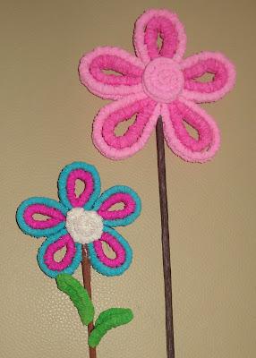 Pieces Of Me Flores Con Papel Crepe - Flores-de-papel-crepe