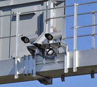 Radar RAI2002 poniendo multas en la M30 de Madrid