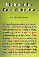 Portada de El libro de las frases de ajedrez de Juan Antonio Montero