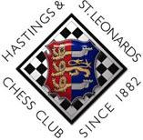 LXXXIII Congreso Internacional de Ajedrez de Hastings 2007 / 2008 y el escudo del Hastings and St. Leonards Chess club