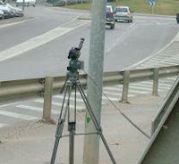 Radar Digi-Cam poniendo multas a coches situados a 700 metros