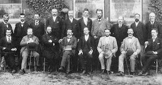 Ajedrecistas del torneo de ajedrez de Hastings en 1895