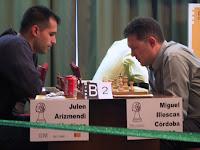 Arizmendi e Illescas en ajedrez