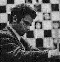 Spassky cuando consiguió el título de campeón mundial de ajedrez