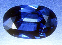Zafiro tallado en joyas de joyería