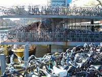 Multas de aparcamiento de bicis en Barcelona