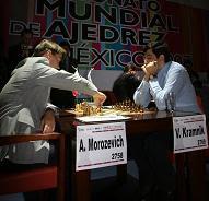 Morozevich vence a Kramnik en el Campeonato Mundial de Ajedrez 2007