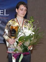 La ajedrecista Kateryna Lahno Campeona de Europa de Ajedrez 2008