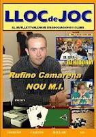 Portada del segundo número de la revista de ajedrez Lloc de Joc