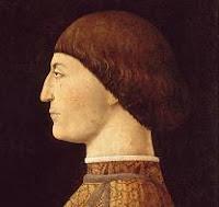 Retrato de Sigismondo Pandolfo Malatesta del pintor Piero della Francesca
