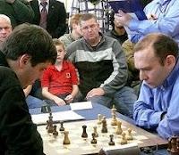 Svidler contra Milov en el VII Gibtelecom Masters de Ajedrez 2009
