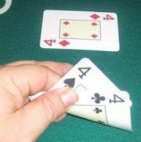 Three of a kind o trio, poker set