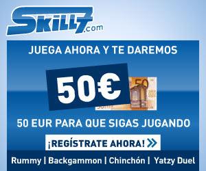 50 euros gratis para jugar a las cartas en Skill7