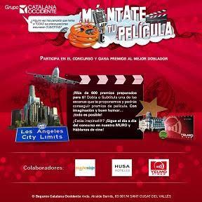 Chollo concurso móntate tu película con el Grupo Catalana Occidente