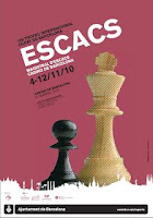 Cartel del 15 XV Torneo Magistral de Ajedrez Casino de Barcelona