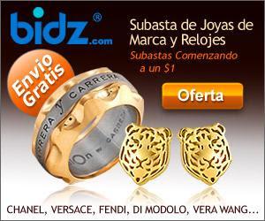 Subastas de joyas online con Bidz