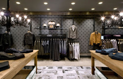 The 1st mango he store design scene - Men s clothing store interior design ideas ...