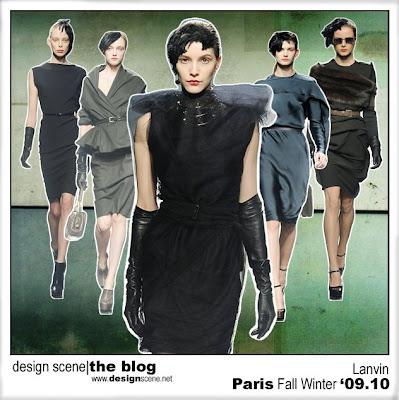 2f8a8a84d9e Paris  Lanvin Womenswear Fall Winter 2009.10 - Design Scene ...