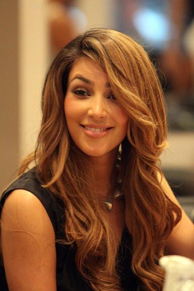 Kim Kardashian Brown Hair Color