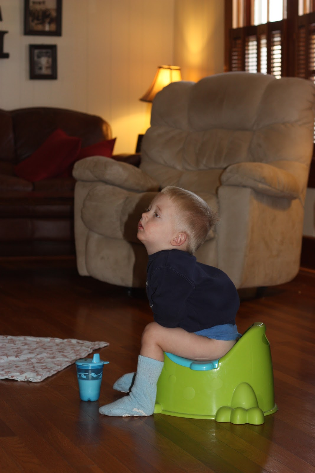 Shaver Family Fun: Potty Time