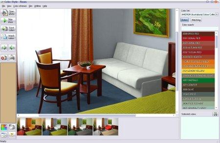 Color style studio - Simulador pintar habitacion ...