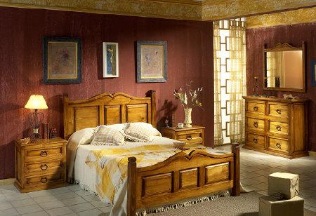 Estilo r stico mexicano y sus colores de paredes - Como decorar una habitacion rustica ...