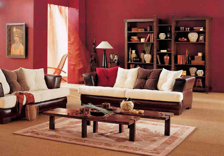 Decoraci n hind coloridos y c lidos dise os for Muebles estilo indio