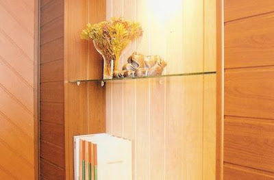Paredes interiores revestidas con madera - Revestimientos madera para paredes interiores ...